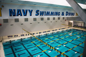 Navy swimming pool