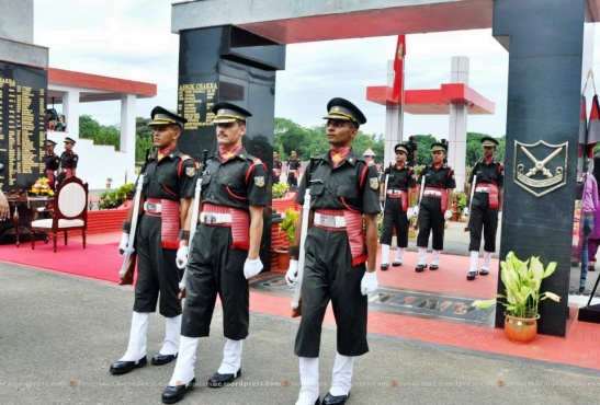 Cadets pass through the portal of Academy -The Antim Pag!