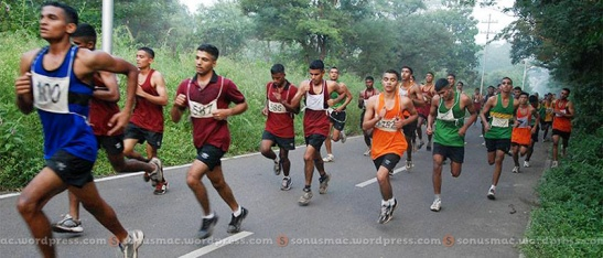 Cross country run!