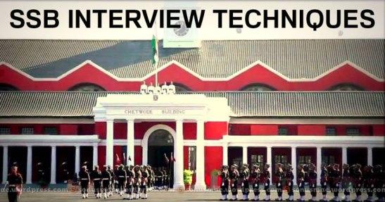 ssb_interview_techniques