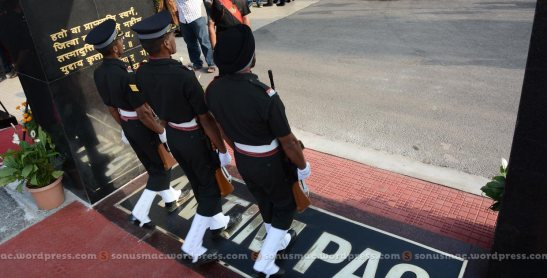 Cadets crossing Antim pag for the first and last time