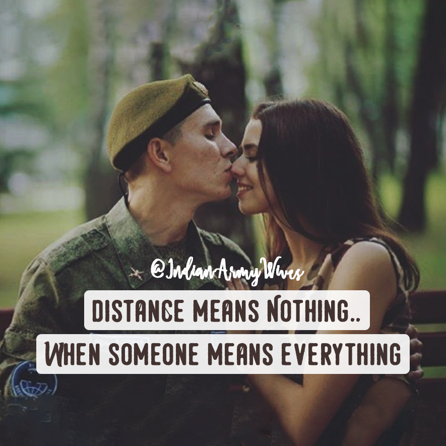 Dating someone in the military quotes